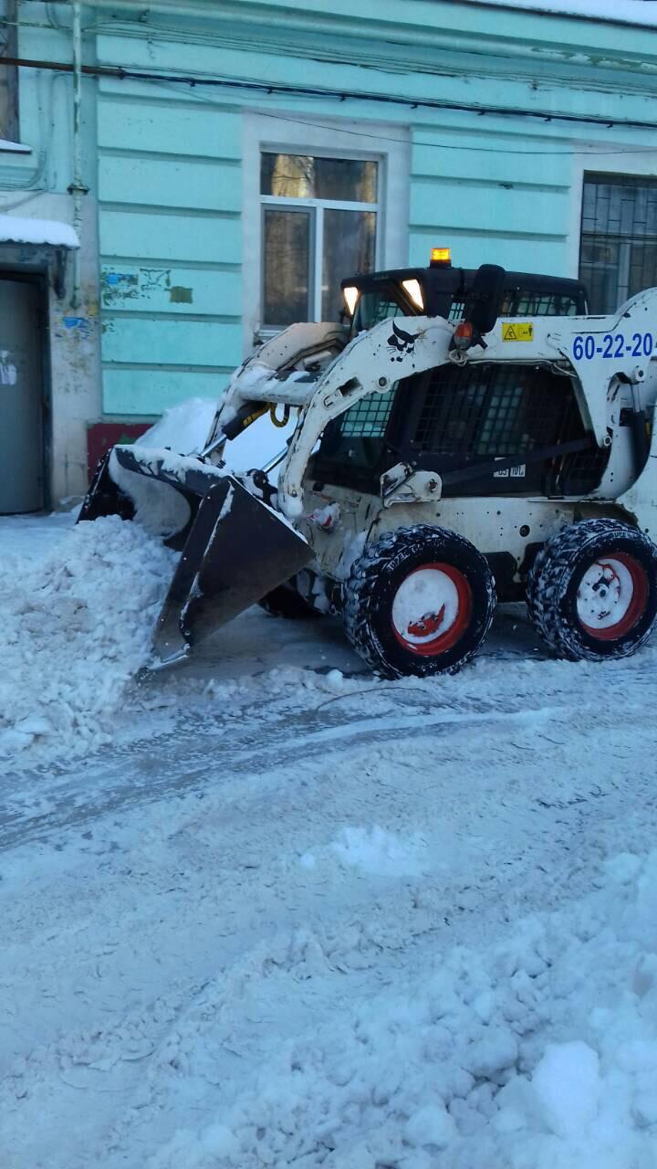 Услуги по уборке снега в омске
