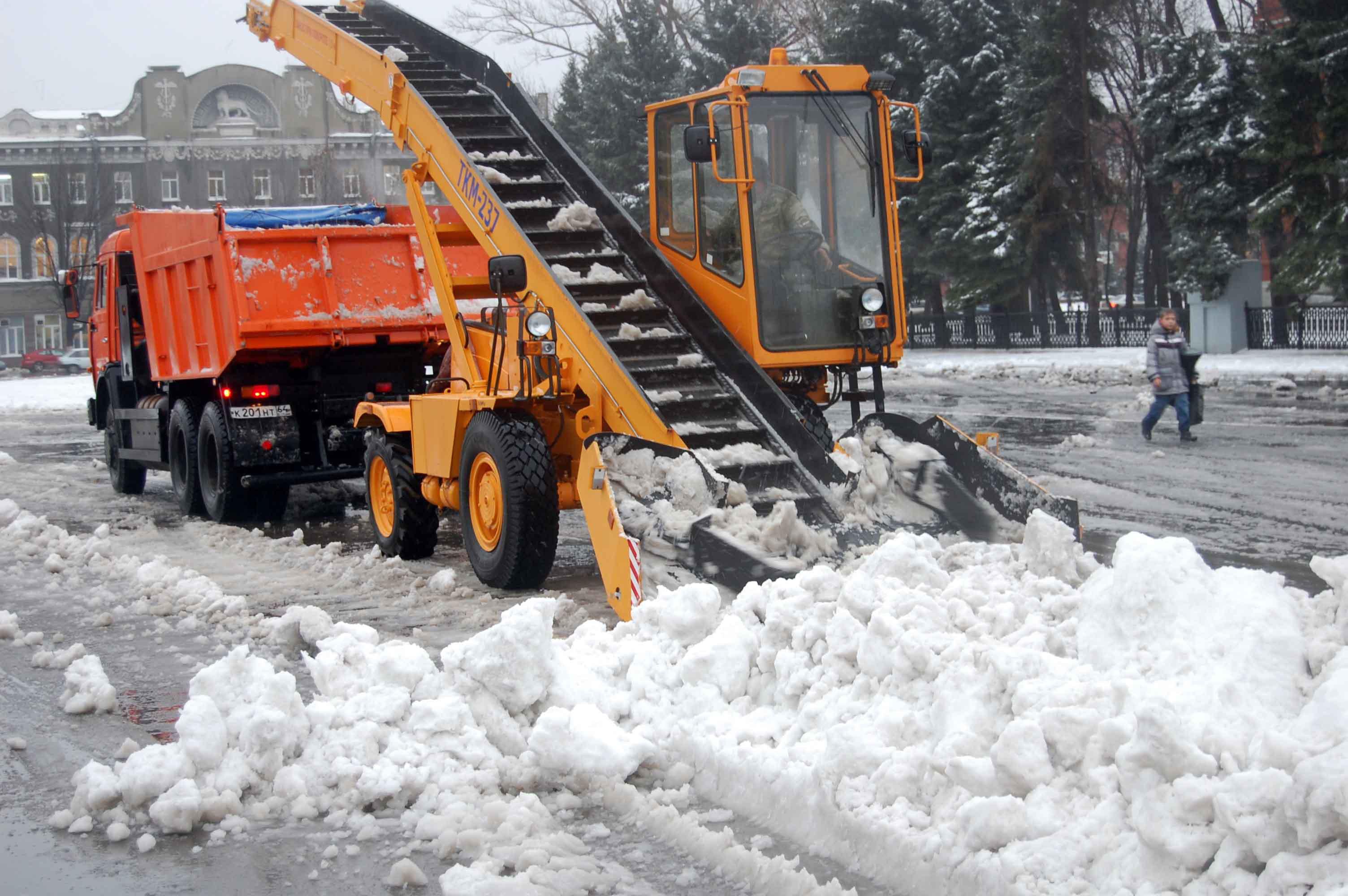 Механизмы для уборки снега на даче
