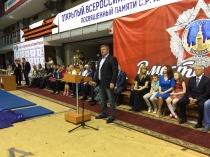 Михаил Исаев поприветствовал участников XIII открытого Всероссийского турнира по самбо