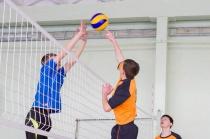 В Кировском районе прошли соревнования по волейболу